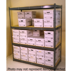 Widespan Shelving - 69 x 22w x 12 x 22d x 84 x 22t - High Strength Steel Shelving