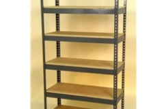 Widespan Shelving - 72 x 22w x 12 x 22d x 84 x 22t - High Strength Steel Shelving