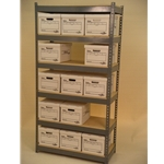 storage shelving for boxes