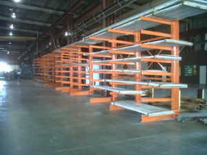 Cantilever Racks in Houston