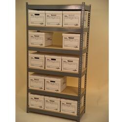 box storage shelving 42x15x7 tall shelving unit 6 levels