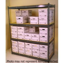 """Widespan Shelving - 69""""w x 42""""d x 84""""t - High Strength Steel Shelves"""