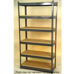 "Widespan Shelving - 96""w x 36""d x 84""t - High Strength Steel Shelving"