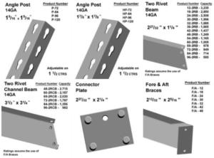 widespan shelving parts