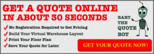 online warehouse racking quote